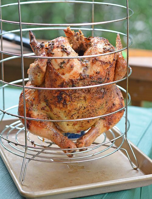 Try making this rotisserie chicken recipe in the Big Easy Fryer from Char-Broil.