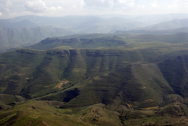 Lesotho's mountainous topography means that it already has a shortage of arable land, a problem that has been compounded by soil erosion resulting from poor farming practices