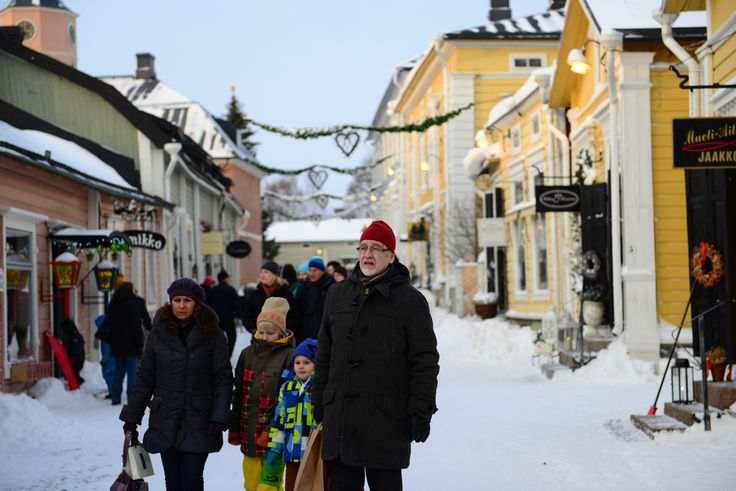 Old town is full of small shops and restaurants. www.visitporvoo.fi