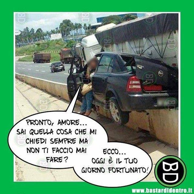 #bastardidentro #auto #incidente #ipnoticamentebastardidentro www.bastardidentro.it