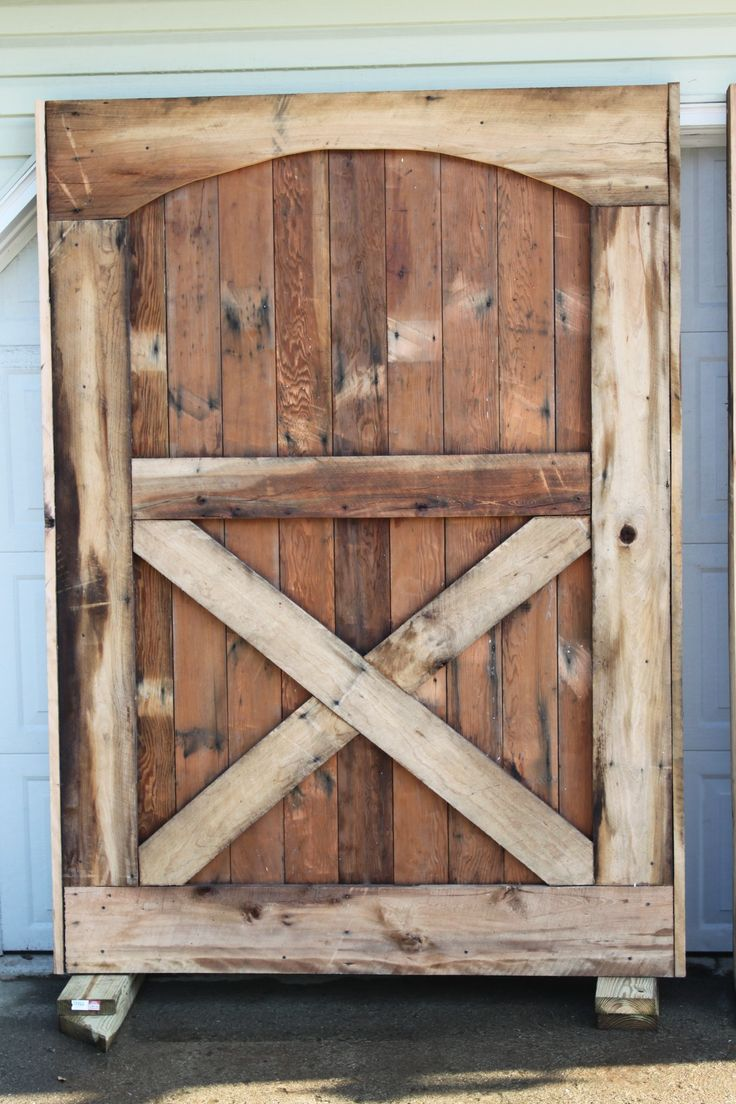 Barn Doors Are Up We Have Closure The Old The Two And