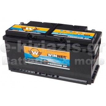 Μπαταρία αυτοκινήτου Winner Premium HP 58014 - 12V 80Ah - 780CCA(EN) εκκίνησης