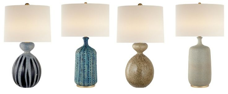Stop by Holland  Company to see the expansive selection of lighting AERIN has to offer. Available off the floor, @aerin offers a variety of texture, color, and size. The line feature great table lamps and a plethora of sconces and chandeliers. @hollandmacrae Suite 240 #ADAC2014