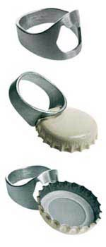 Redneck wedding ring - it's multi-functional of course. Those rednecks are so practical.