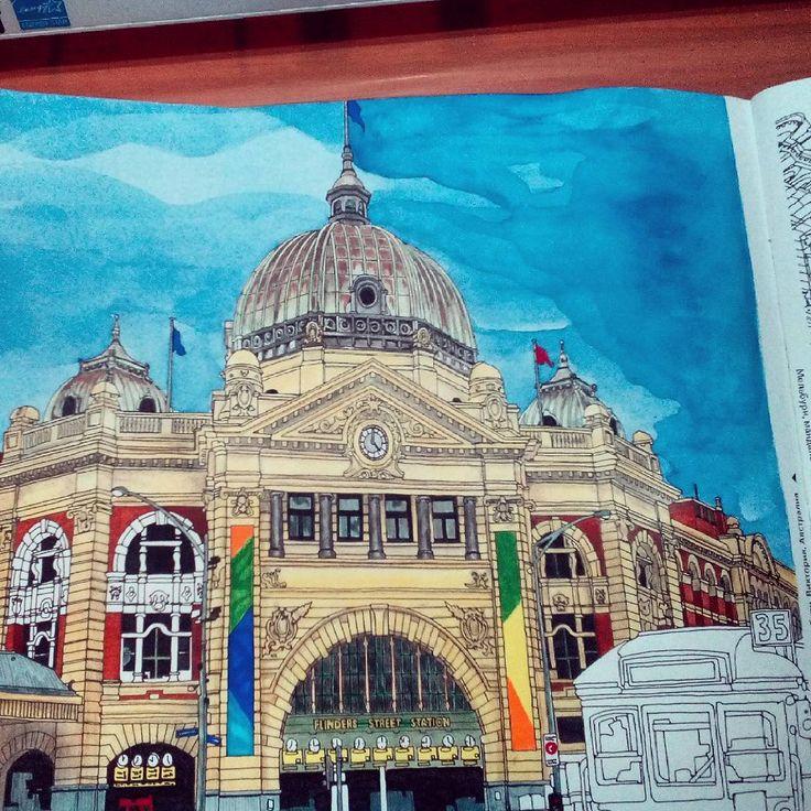 Fantastic Cities Stevemcdonald Fantasticcities Art
