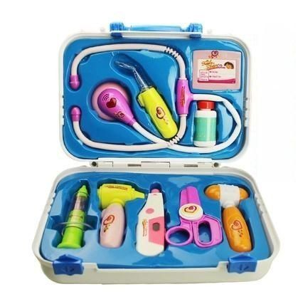 Toy Medical Kits kids plastic play houses ,toys for children doctor ,Doctor play set toy 9pcs/set * You can find more details by visiting the image link.