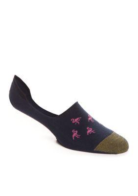 Gold Toe  Flamingo Oxford Liner Socks -Single Pair