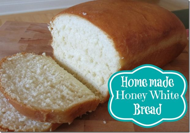 Homemade Honey White Bread that makes delicious Rolls too