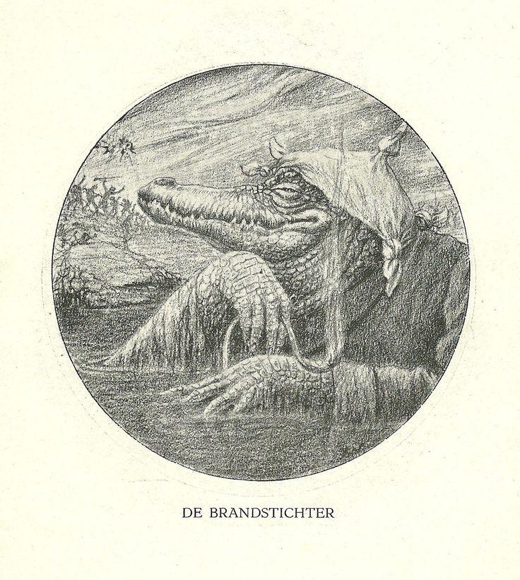 De Brandstichter by Henri Verstijnen. Europeana 1914-1918, CC BY-SA