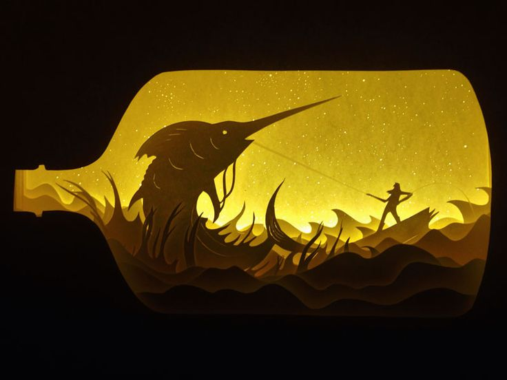 27 Backlit Paper Scupltures That Will Take You To Another World & 17 best Night light images on Pinterest | DIY Creative and Fused ... azcodes.com