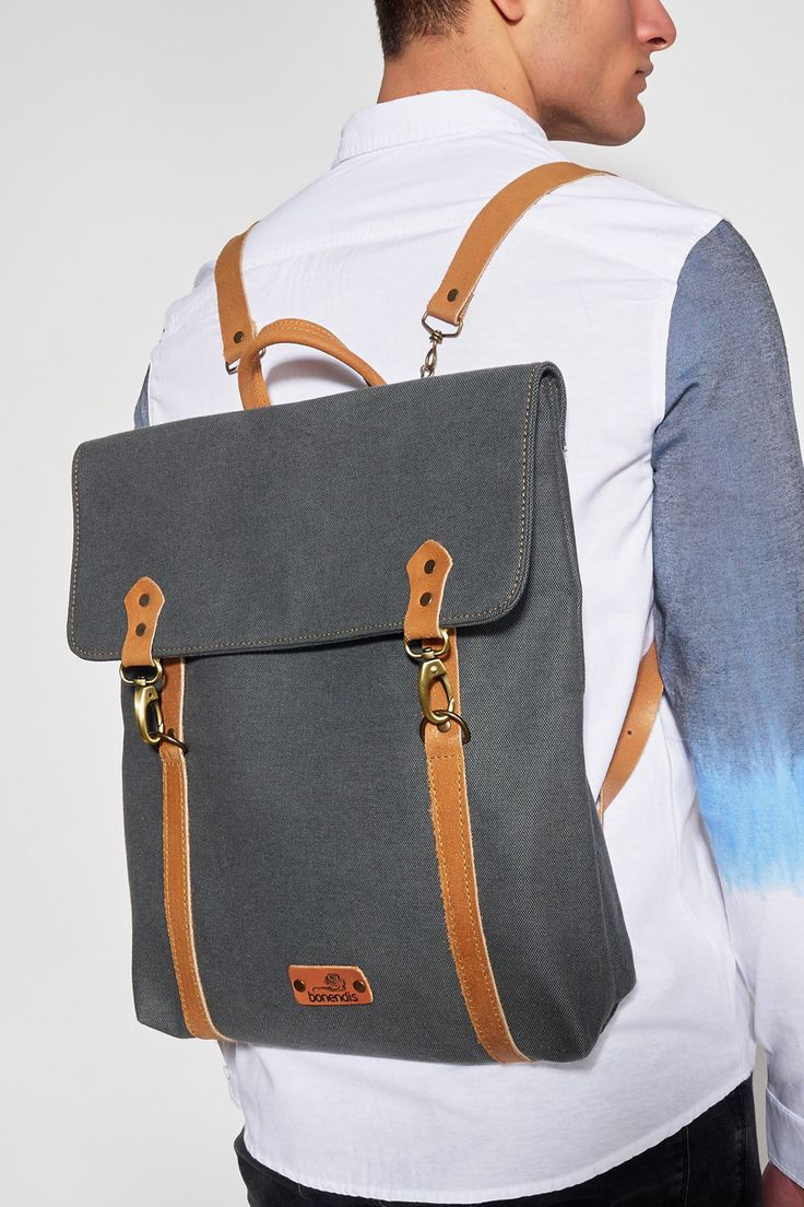 #BONENDIS #LONDON GREY #BACKPACK #UNISEX #BAGS #Ozon #Boutique