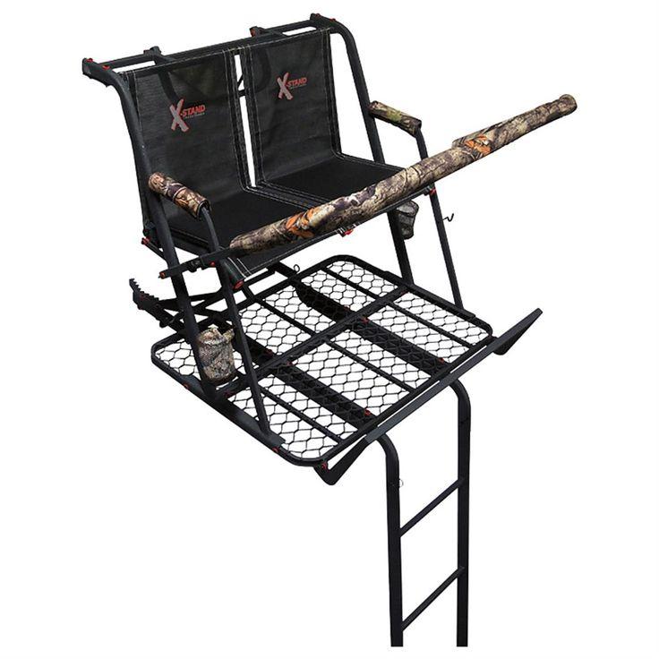 X-Stand Jayhawk 20' 2-man Ladder Tree Stand