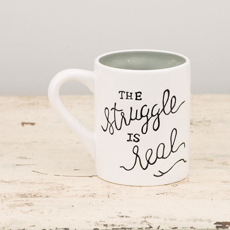 Glory Haus - The Struggle is Real Mug