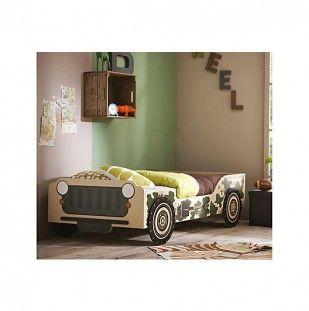 bed cameo jeep groen ecru zwart stoer bed jongen cool bed boy pinterest beds and jeeps. Black Bedroom Furniture Sets. Home Design Ideas