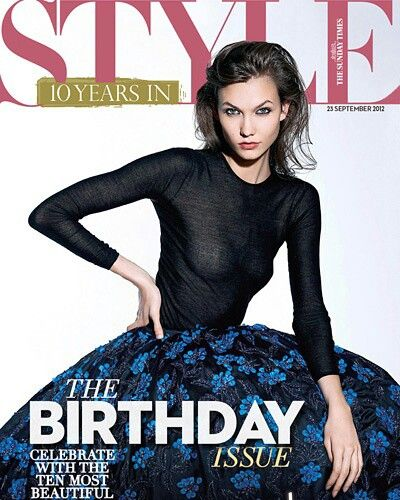 KK for the Sunday Times Style by september 24,2012