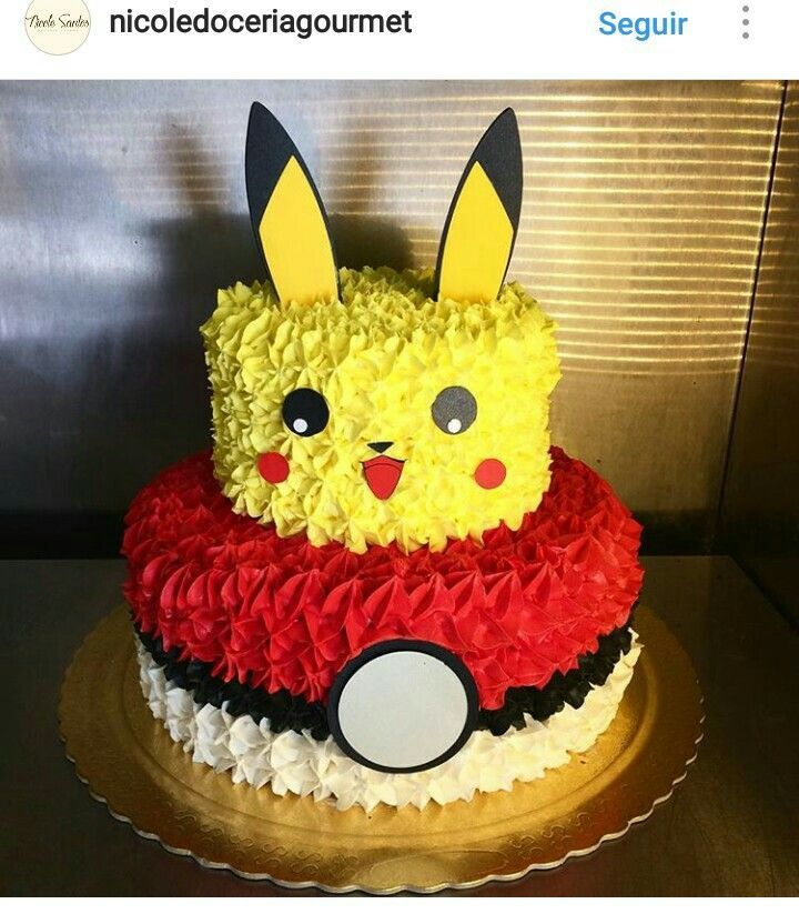 Cake Pictures Birthday Free : Best 25+ Pikachu cake ideas on Pinterest Gateau pikachu ...