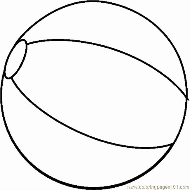 Beach Ball Coloring Page Unique Printable Beach Balls Clipart Best In 2020 Beach Coloring Pages Curious George Coloring Pages Coloring Pages