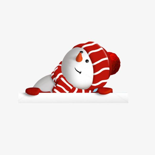 Sombrero de Navidad con muñeco de nieve imagen, Dibujos Animados De Muñeco De Nieve, Muñeco De Nieve De Navidad, Simple Muñeco De Nieve Imagen PNG