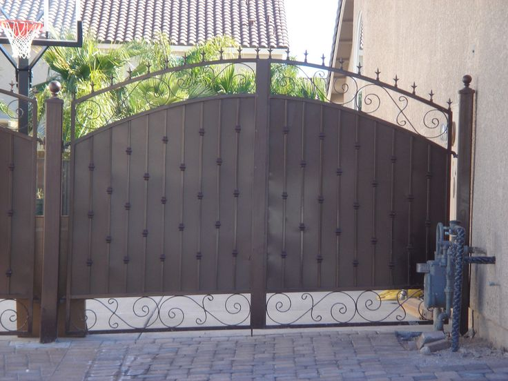 9 Best Metal And Wood Gates Rolling Gates And Rv Gates
