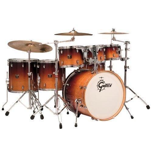 """Gretsch Catalina maple 6pc drum set with free 8"""" tom Mocha Fade. http://www.zocko.com/z/JHlIW"""