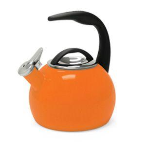 Chantal Orange 2 Quart Anniversary Kettle