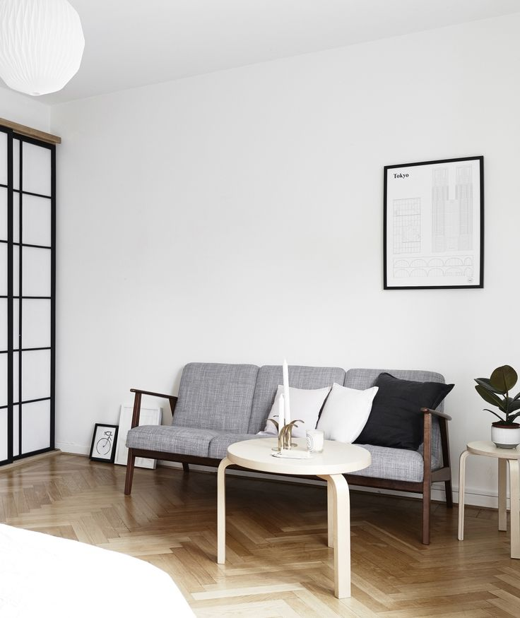 Simple And Minimalist Living Room Mix Of Scandinavian Japanese Style