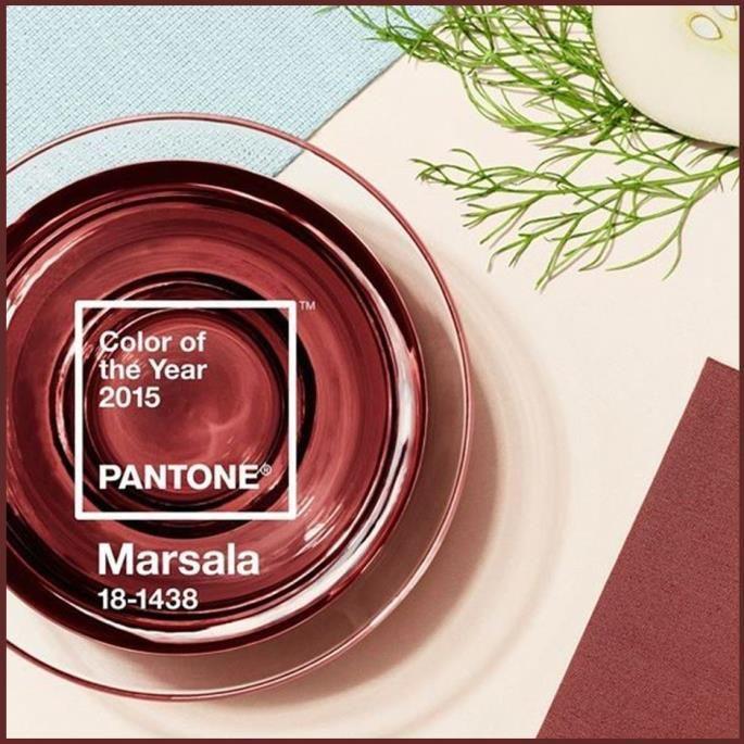 #Pantone #Marsala #ColorOfTheYear #2015