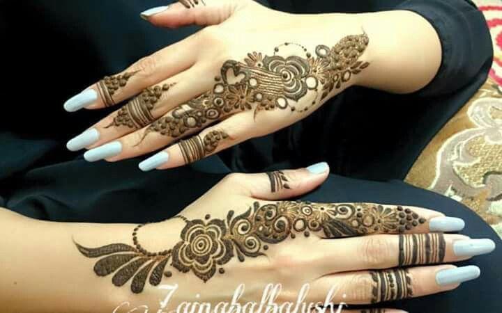 Gulf henna design