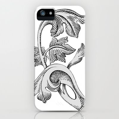GREAT LOVE B & W iPhone & iPod Case by Chicca Besso - $35.00