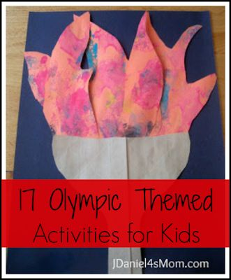17 Olympic Themed Activities for Kids