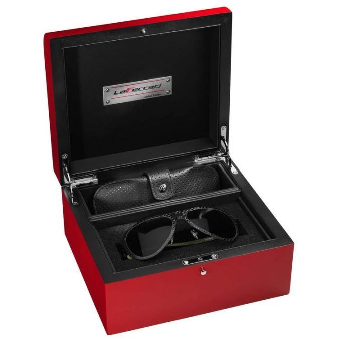 """""""LaFerrari"""" Sunglasses, Special Limited Edition Made From Carbon Fiber"""