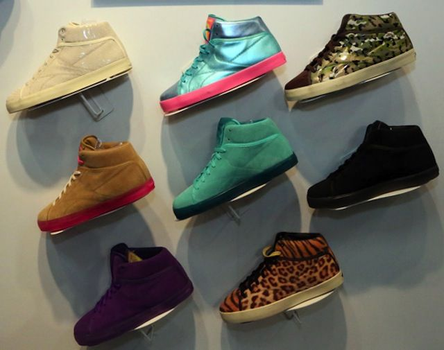 Tyga x Reebok Classics T-Raww 2013 Collection...gotta get the chettah or brown and pink ones