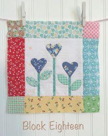 Bee In My Bonnet: BLOOM Sew Along - Week 18 - Block 18!!!