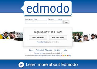 Website Wednesdays: Edmodo