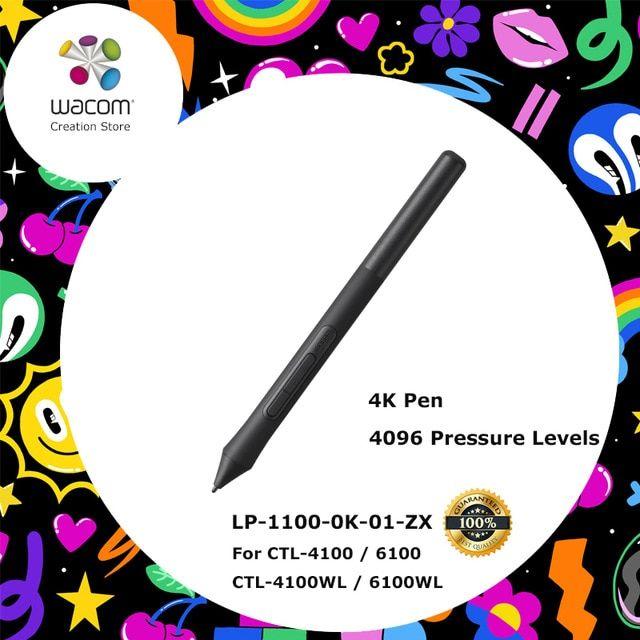 New Wacom Intuos Pen 4K 4096 Pressure Levels for Wacom