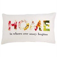 Expressions Pillow – Floral Home
