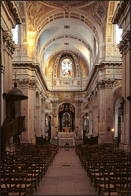 Saint-Louis-en-Ile Church, Paris, France - Arnaud Frich Photography