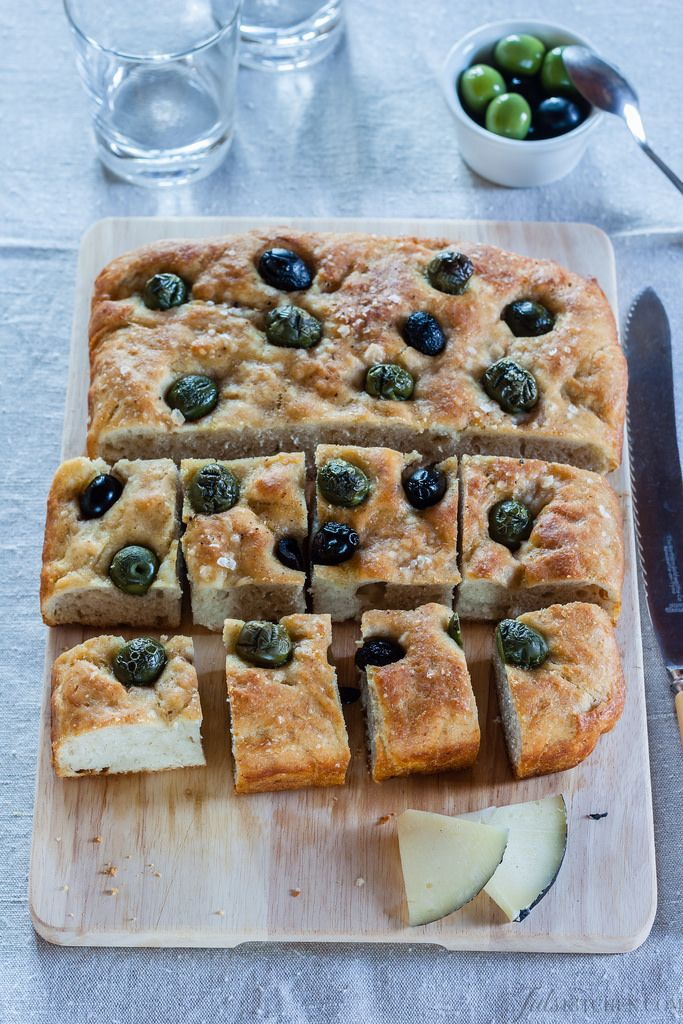 Stories Of Sourdough Starter, Being In A Hurry And Focaccia With Olives