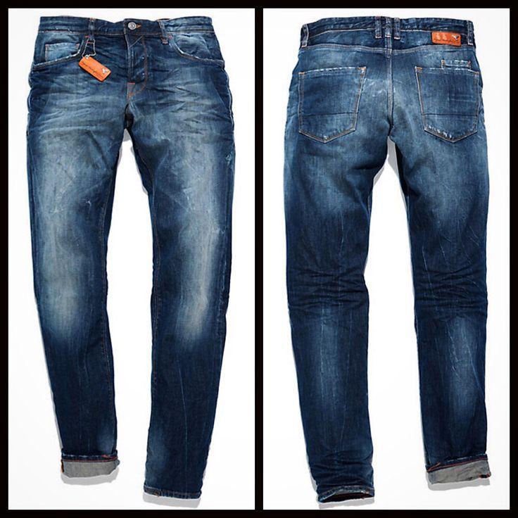 Patrizia Pepe Uomo Jeans Skinny 5 tasche in Denim comfort, trattamento tradizionale arricchito da sottili ed irregolari barrature, fondo 16 cm