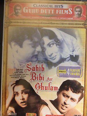 Sahib Bibi Aur Ghulam, DVD, Bollywood Film, Hindu Language, English Sub, New