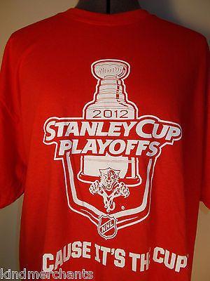 Stanley Cup Playoffs T-shirt NHL Hockey Shirt L