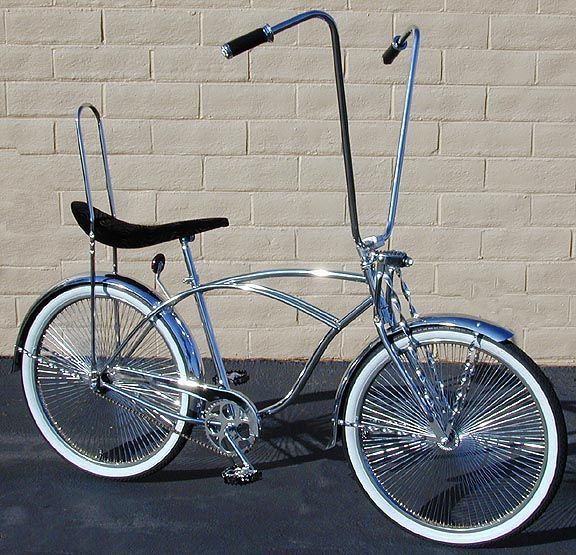 Bike Parts to make bicycles look good. Custom bicycles and custom bike parts for designers. Bicycle parts that work with lowrider bicycles and cruiser bicycles and chopper bicycles and trikes.