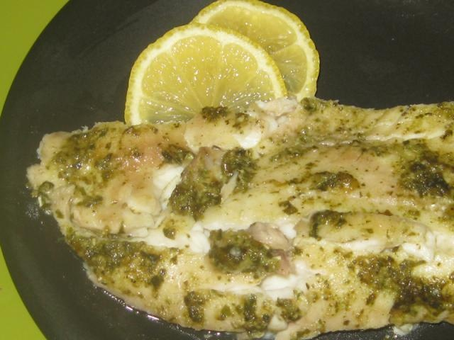 Tilapia With Pesto And Roasted Tomatoes Recipes — Dishmaps