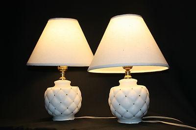 lovely vintage lamps up for bid
