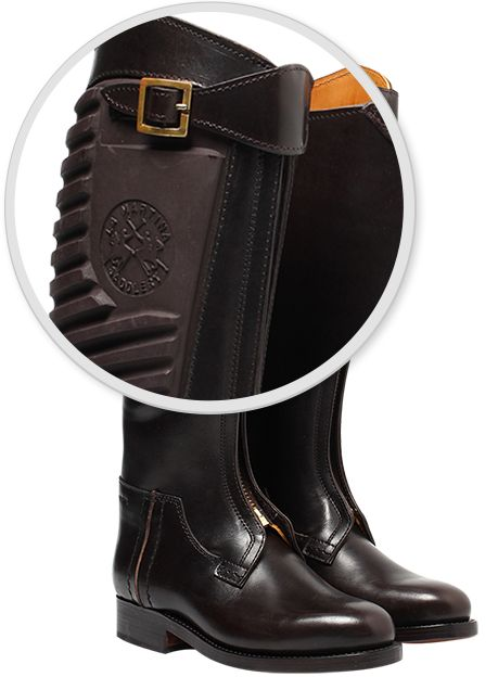 With 3 layers of leather, La Martina's boots let you focus on the game!