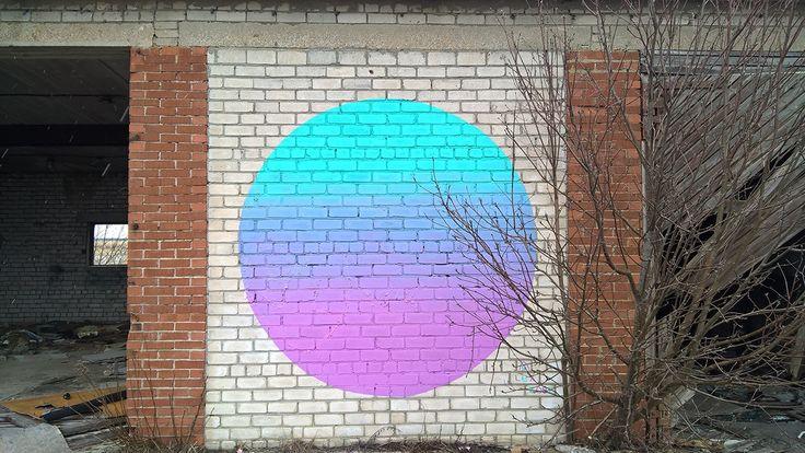 """Mural """"Tapetum lucidum"""". on Behance"""