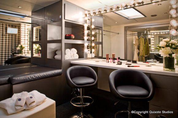 Makeup room interior design