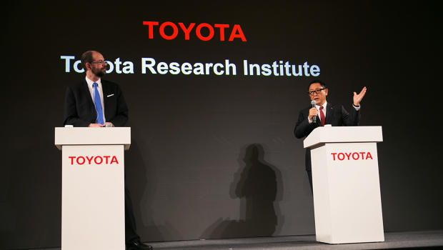 Toyota Launching $1 Billion AI Lab . . . And It's Not Just For Cars