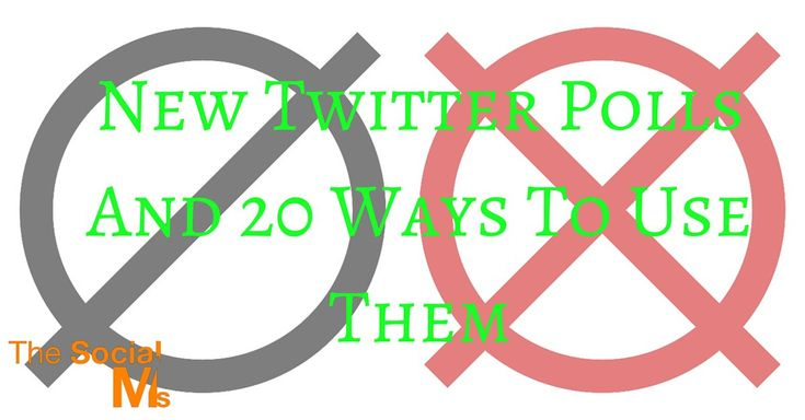 Twitter Polls Examples And How To Use Them  ||  Twitter has a cool feature you may not know: Twitter polls. Here are 20 Twitter poll ideas and how to use them for your business. https://blog.thesocialms.com/twitter-polls-and-20-ways-to-use-them/?utm_campaign=crowdfire&utm_content=crowdfire&utm_medium=social&utm_source=pinterest