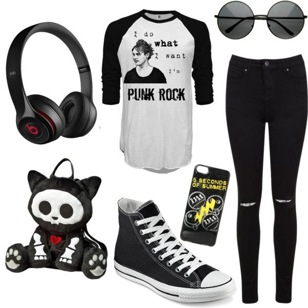 Untitled #3 by raczreka on Polyvore featuring polyvore fashion style Miss Selfridge Converse Beats by Dr. Dre